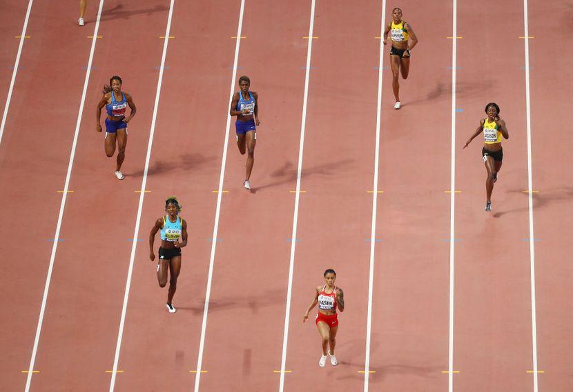 400 metara žene finale, Doha 2019