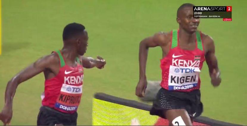 Konselslus Kioruto i Benjamin Kigen, 3000 metara stipl