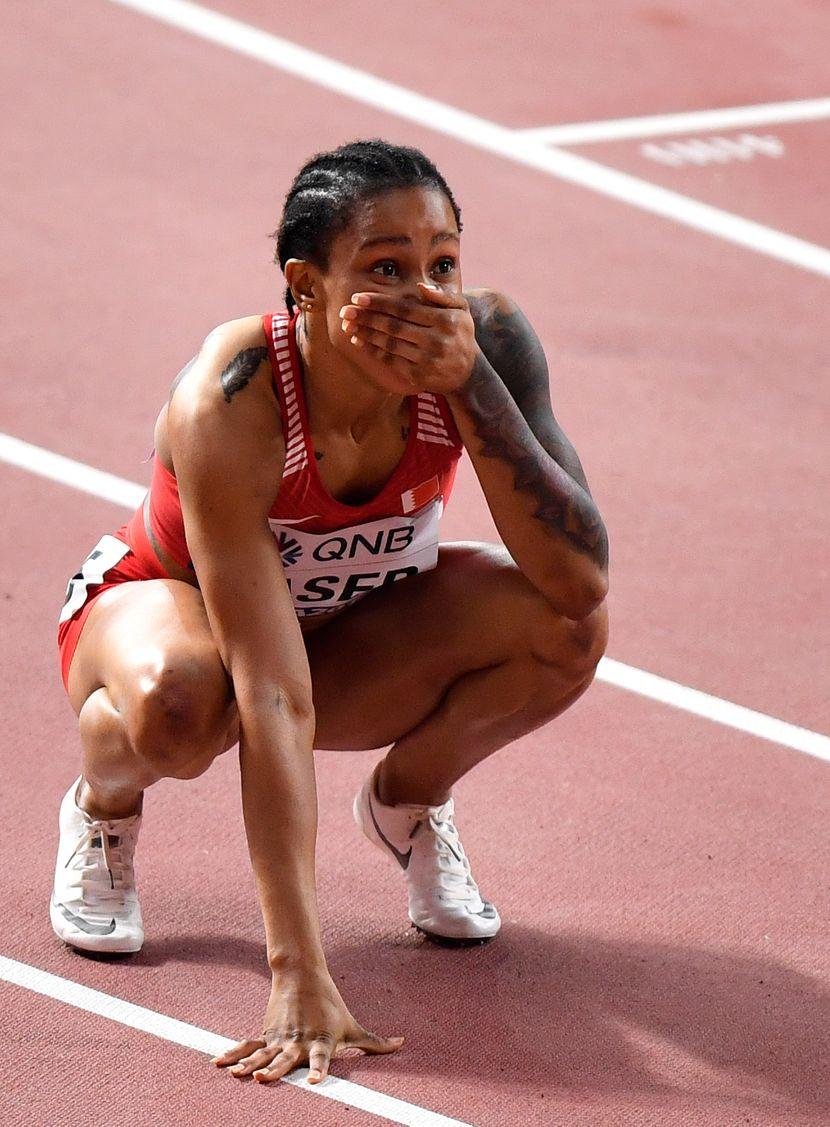 Salva Eid Naser, 400 metara, Doha 2019