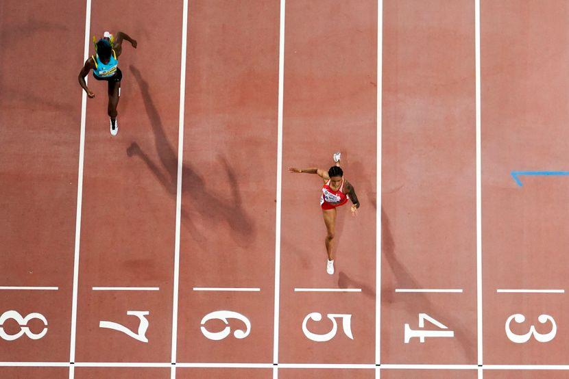 Salva Eid Naser i Šoni Miler-Uibo, 400 metara, Doha 2019