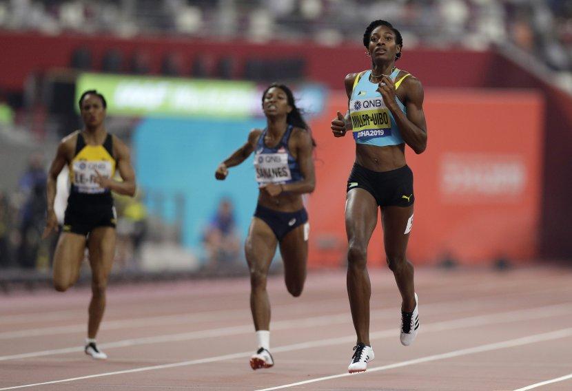Šoni Miler-Uibo, 400 metara, Doha 2019