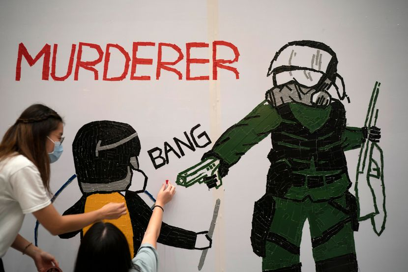 Hong Kong Hongkong mural