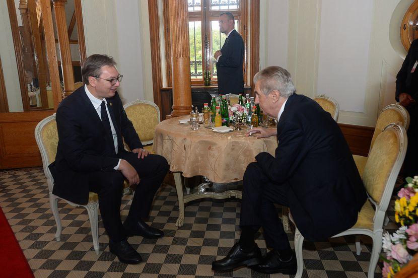 Prag, Aleksandar Vučić