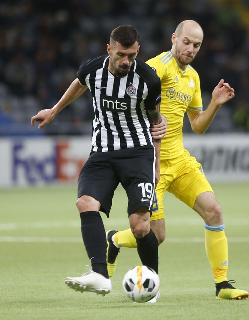 Aleksandar Šćekić, FK Partizan