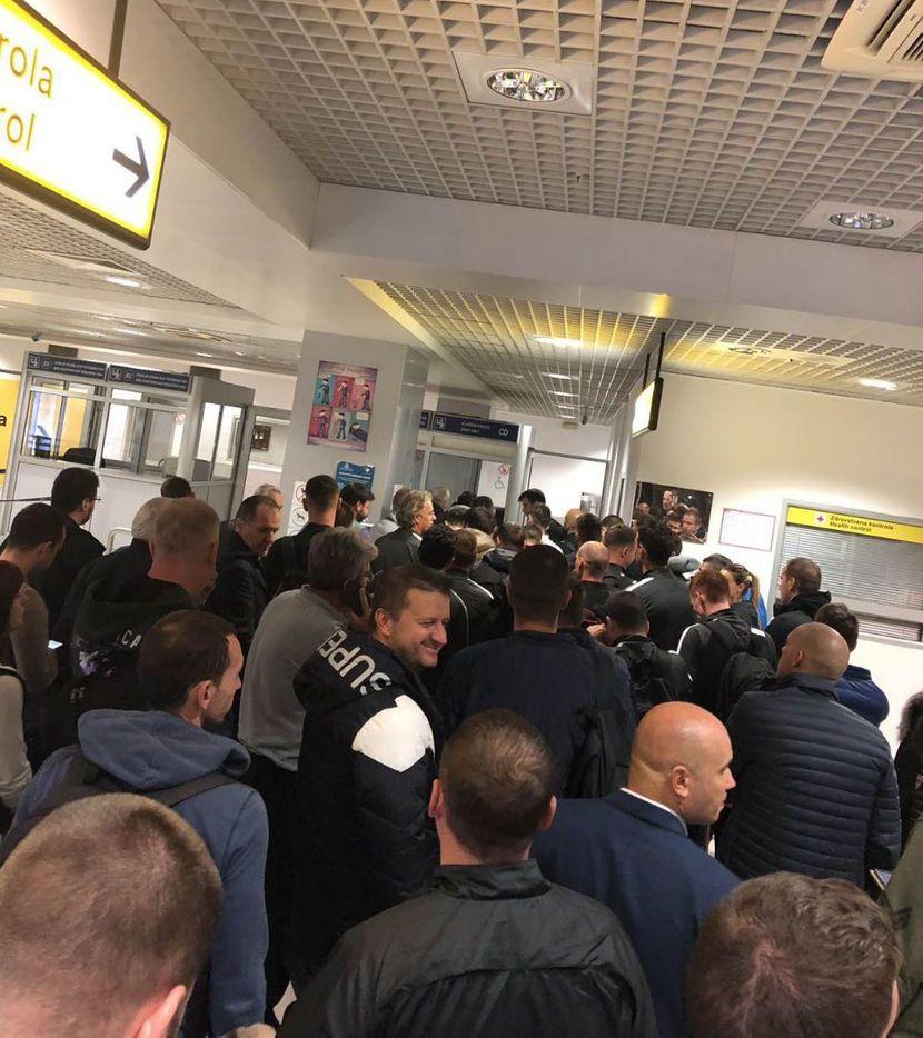 FK Partizan, FK Astana, Aerodrom