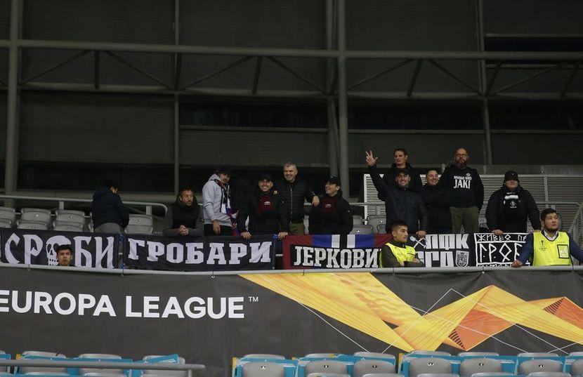 Grobari, FK Partizan, FK Astana