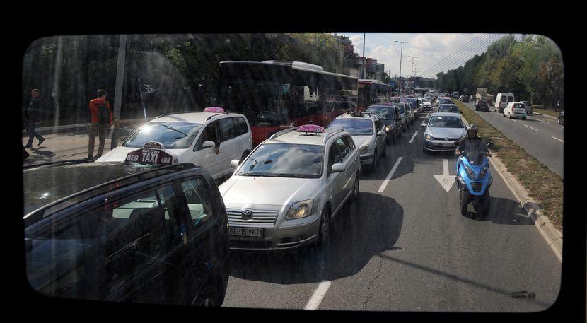 Strajk taksista