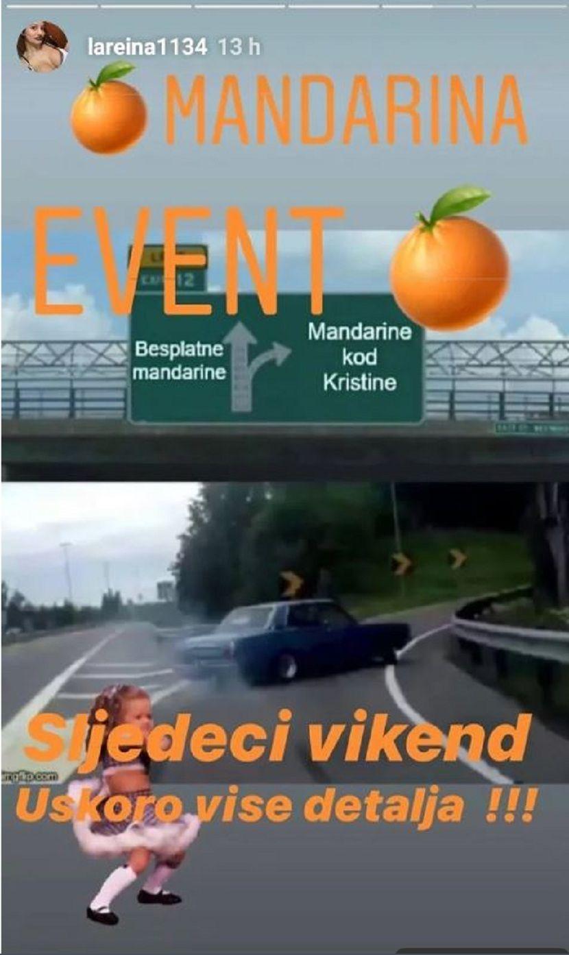 Kristina Mandarina, Instagram
