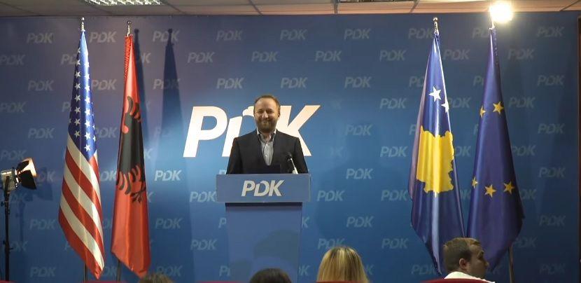 Abeljard Tahiri, PDK, DPK