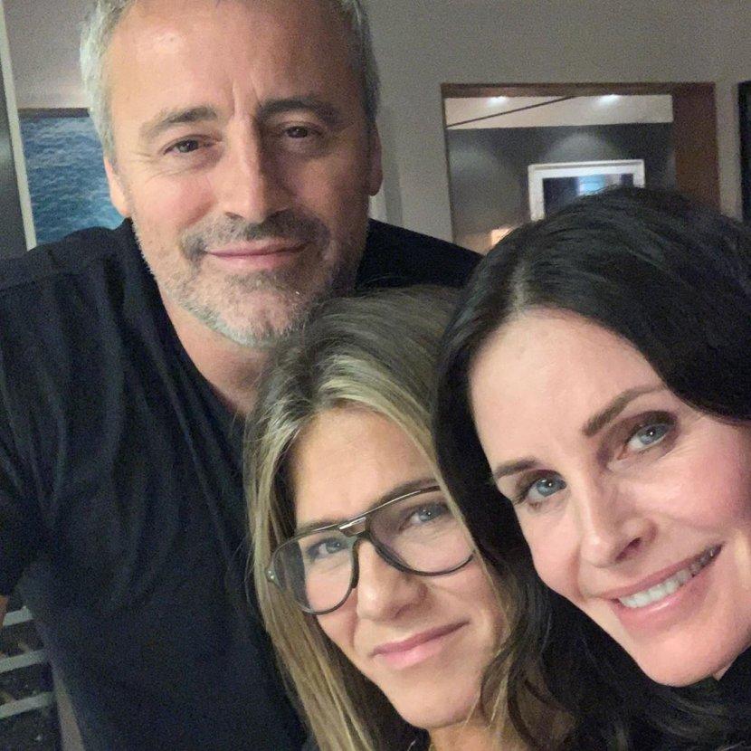 Met Leblank, Dženifer Aniston, Kortni Koks