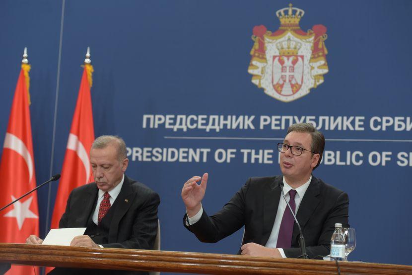Aleksandar Vucic, Redzep Tajip Erdogan