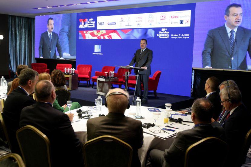 Ivica Dačić, Ekonomski samit