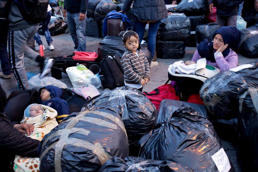 Izbeglički kamp na Lezbosu