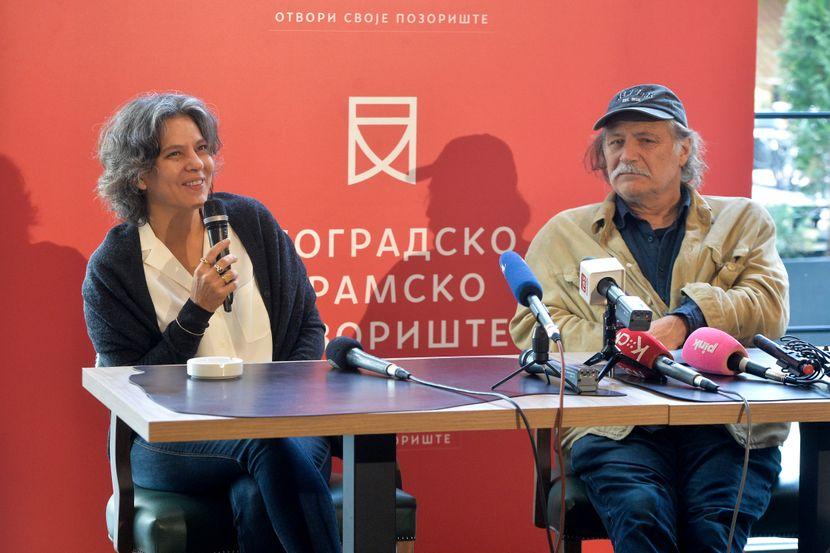 Lenka Udovički i Rade Serbedžija