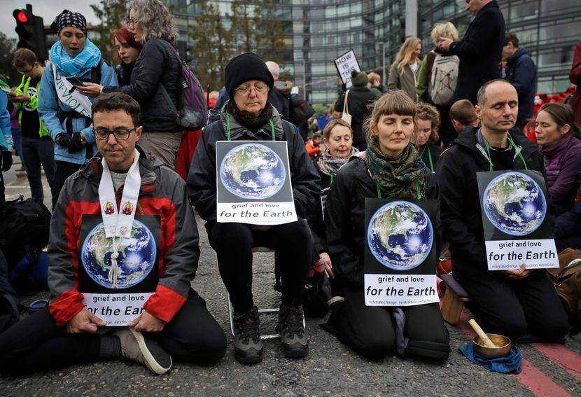 Klimatski protest Velika Britanija
