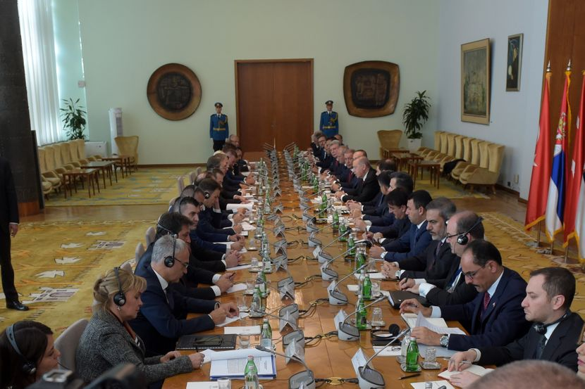 Redžep Tajip Erdogan i Aleksandar Vučić