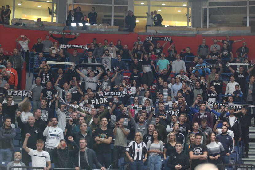 KK Partizan - KK Tofaš
