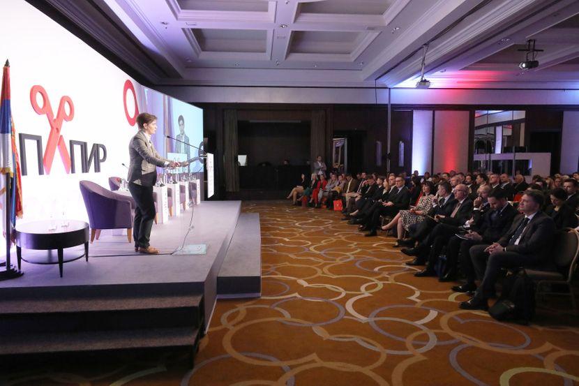 """Ana Brnabić na konferenciji """"e-Papir – od šaltera do digitalne transformacije"""""""