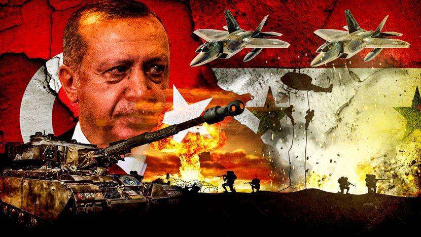 Erdogan, Turska, Sirija