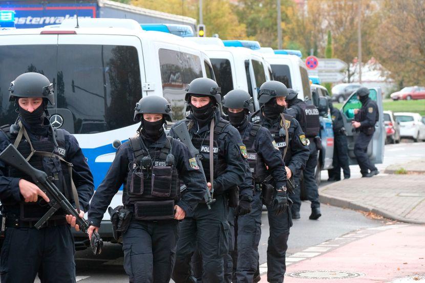 Pucnjava u Nemackoj, Nemacka policija