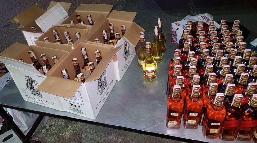 Zaplena alkohola i zlata