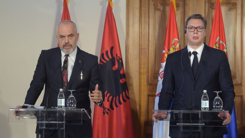 Aleksandar Vucic, Zoran Zaev, Edi Rama