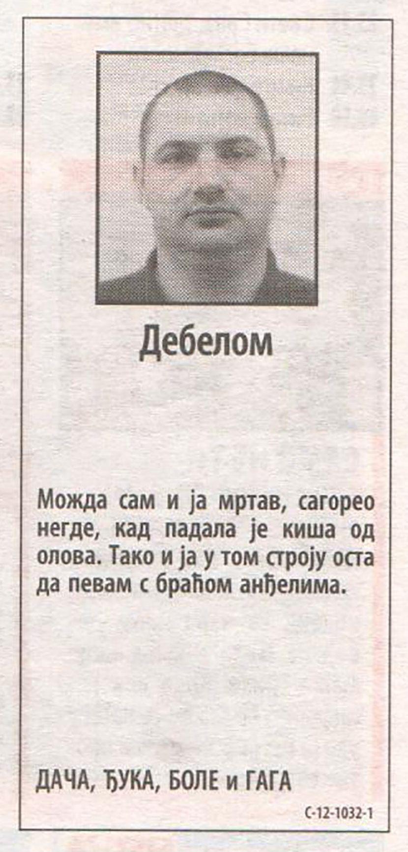 Goran Kljestan Boske
