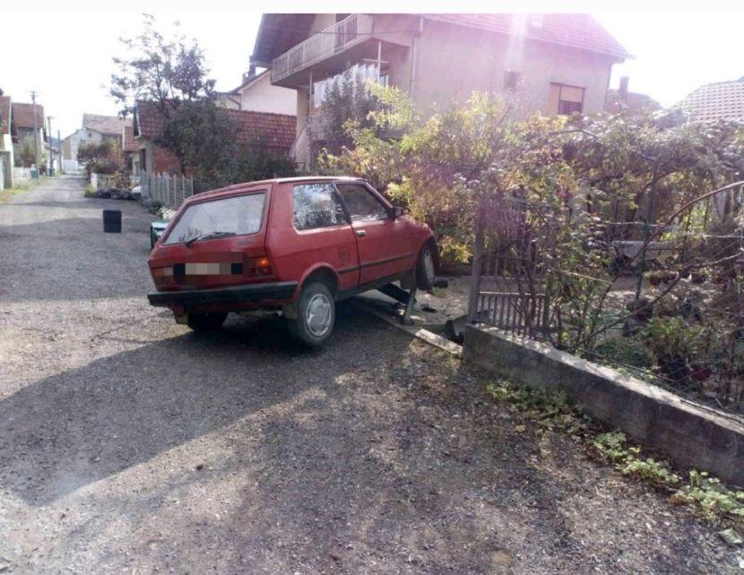saobraćajna nezgoda, jugo, Leskovac