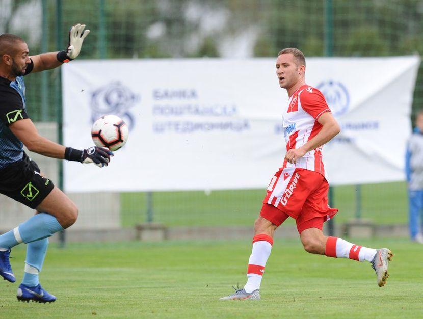 FK Crvena zvezda, FK Trepča, Veljko Simić, Radživ Van la Para