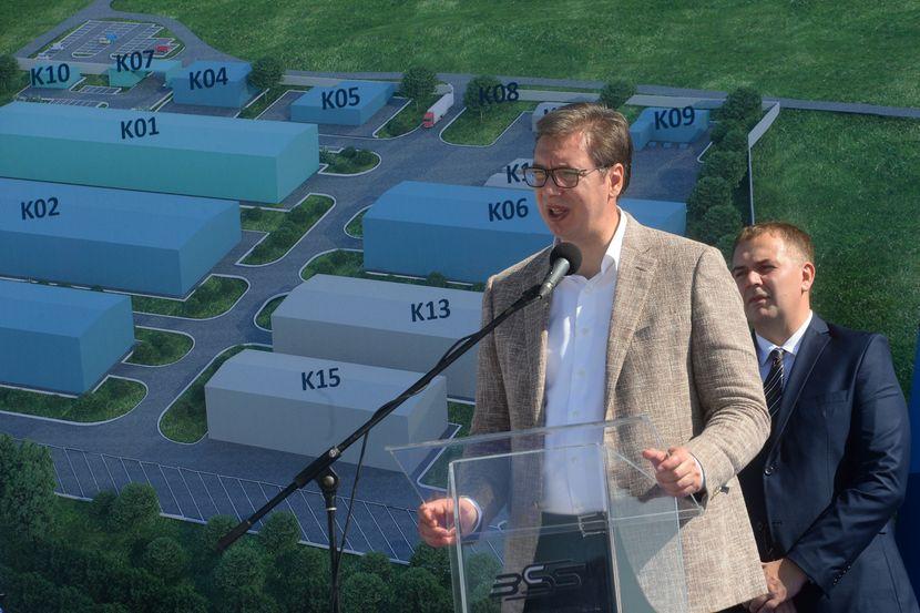 Aleksandar Vučić, Kuršumlija