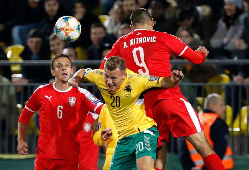 Fudbal Srbija Litvanija