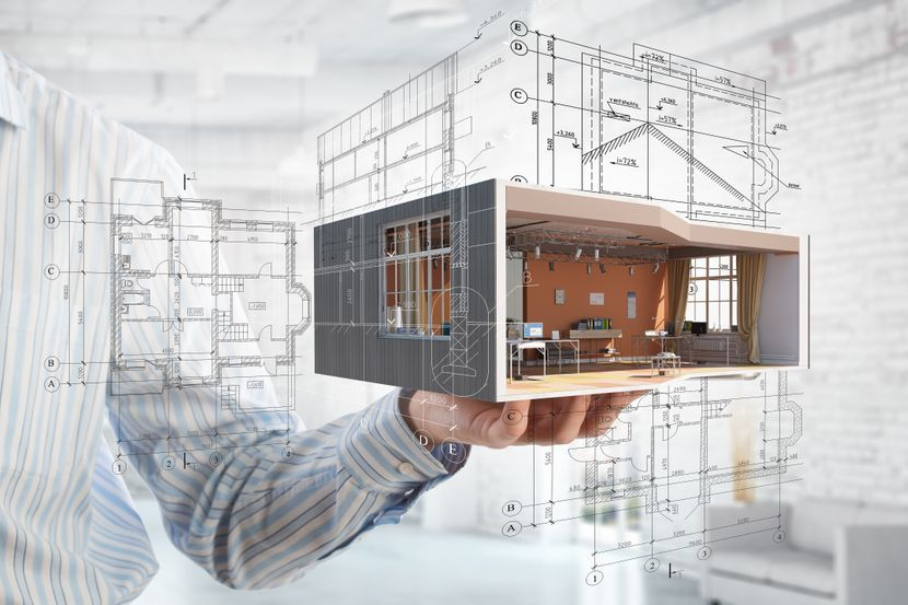 Kuća, maketa kuće, plan gradnje kuća na dlanu, kupovina, nekretnine