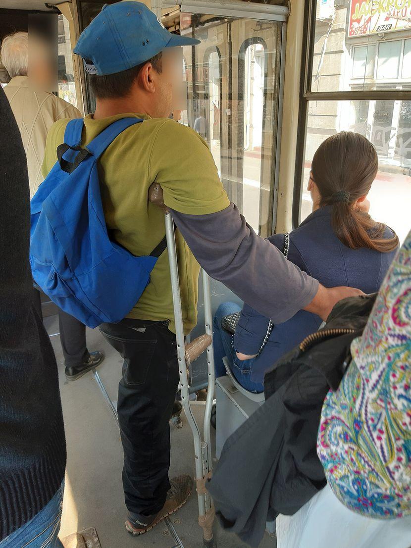 Gradski prevoz, invalid