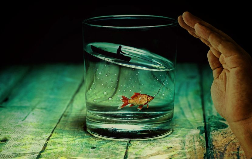 Voda čaša