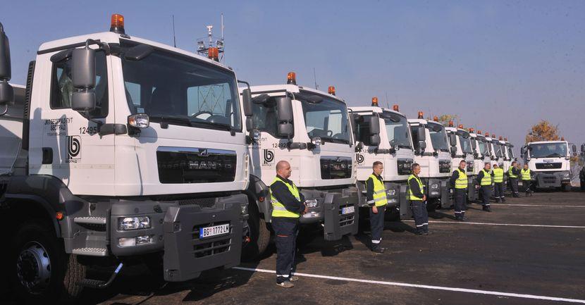 Goran Vesic, kamioni