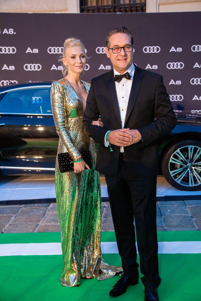 Filipa Štrahe i Hajnc-Kristijana Štrahe,