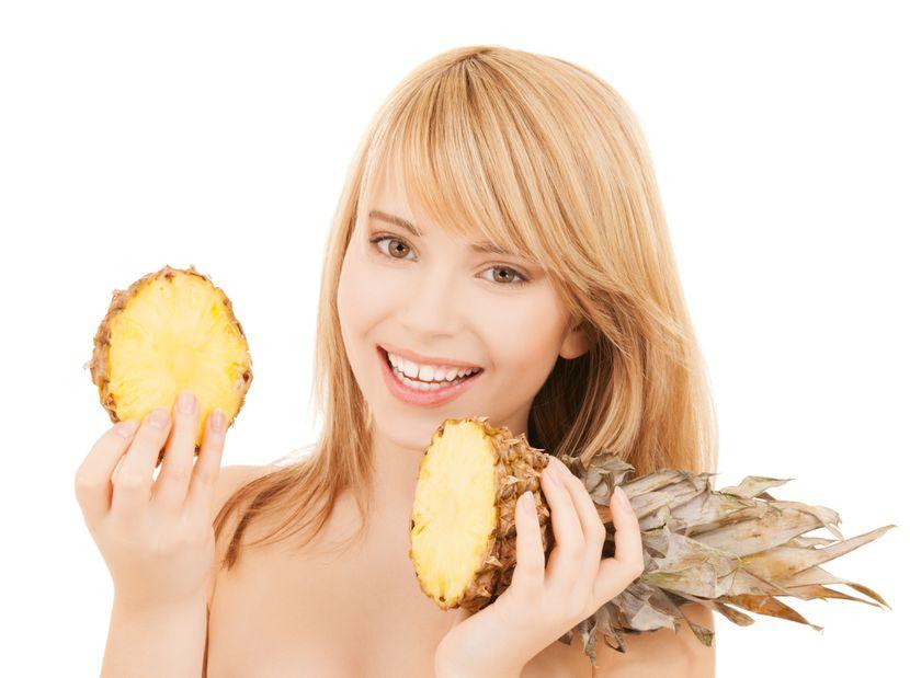 ananas lepota zdravlje devojka