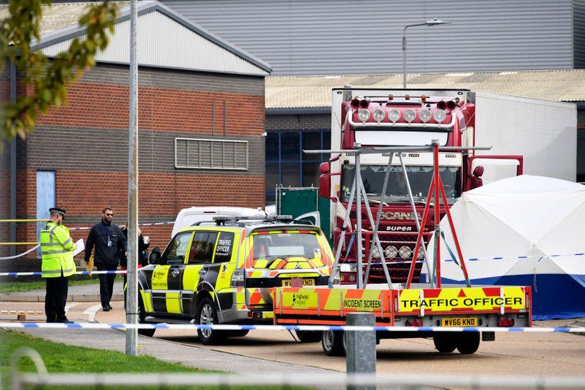 Kamion iz Bugarske tela 39 muškaraca, Britain Truck Bodies Found