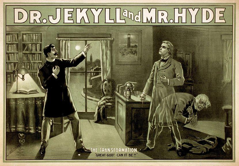 Poster, Doktor Džekil i mister Hajd