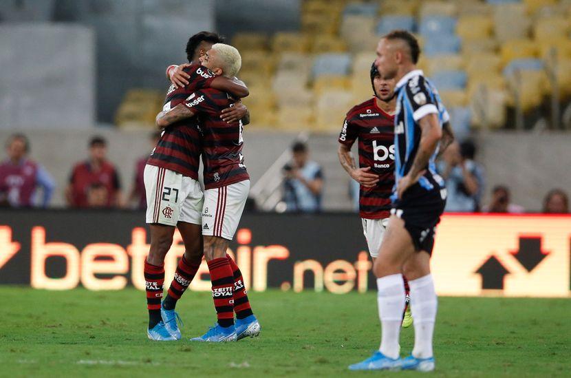 Flamengo-Gremio, Kopa Libertadore