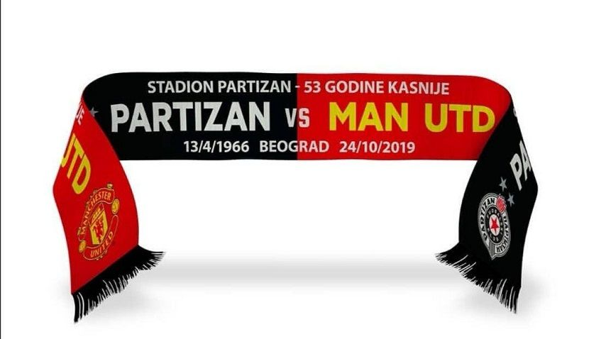Partizan - Mančester junajted, šal