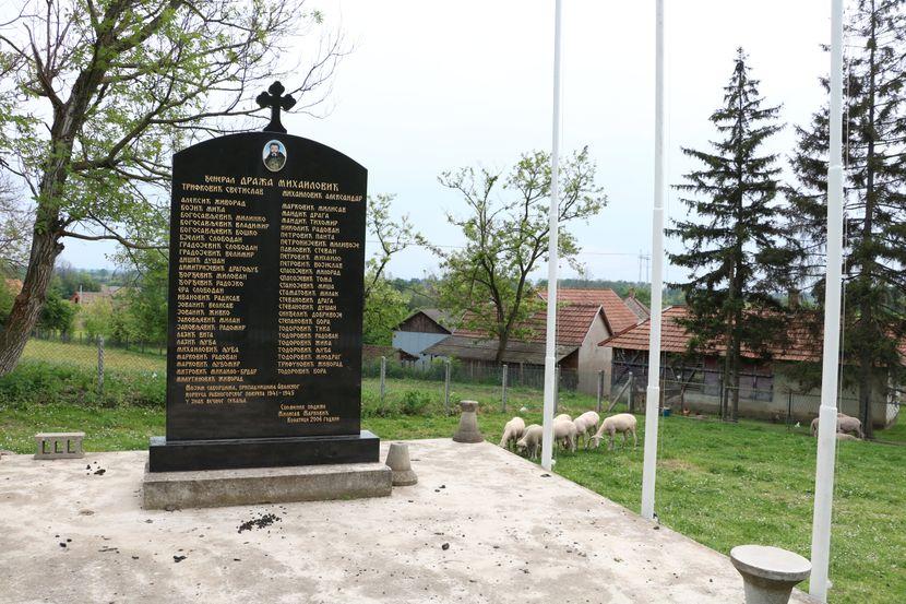 Spomenik Draži Mihailoviću