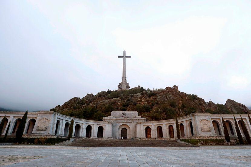 Francisko Franko Francisco Franco mauzolej Dolina palih Španija