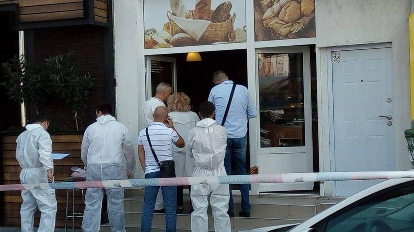 Pucnjava, pekara, Čukarica