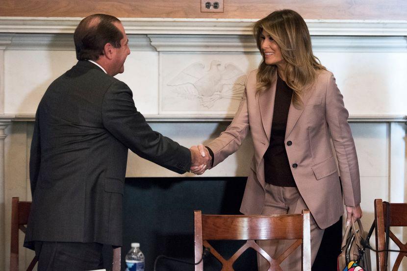 Melanija Tramp, Vašington, Melania Trump Washington