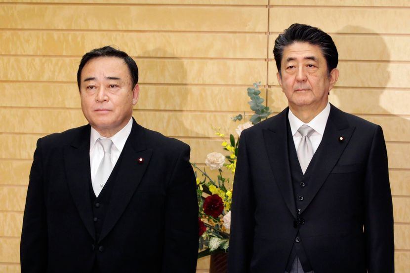 Abe i ministar trgovine