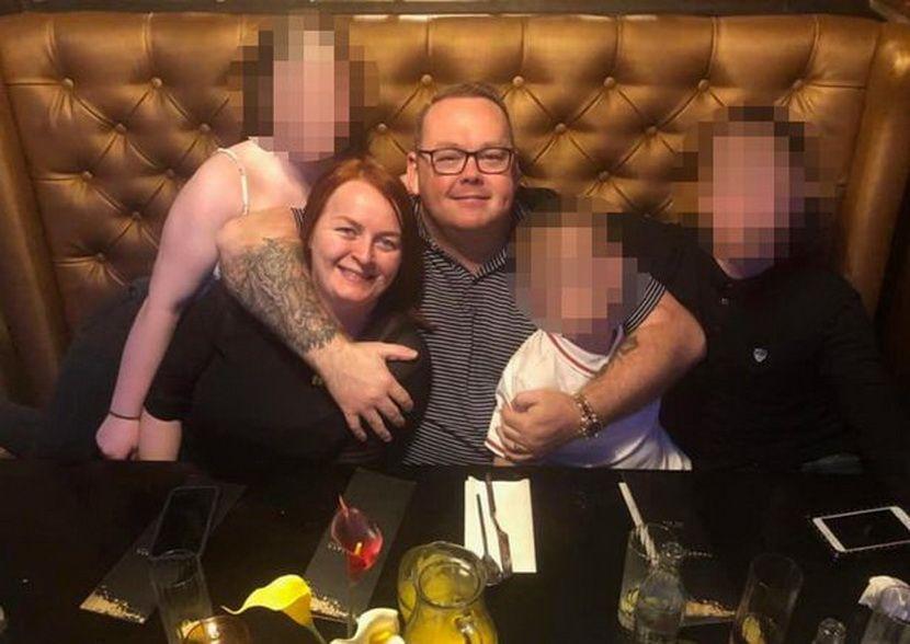 Joanna Maher, 38, and her husband Thomas