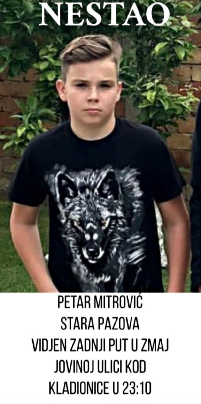 Nestao, Petar Mitrović