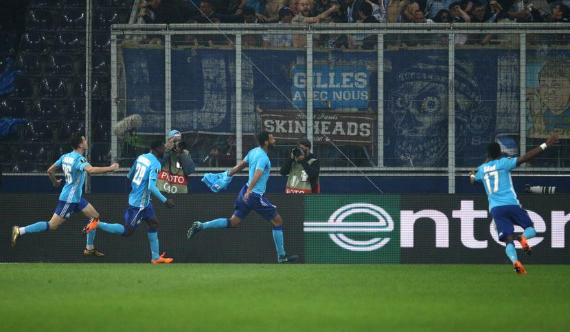 Commando Ultras, FK Marselj, Marsej, navijači, zastava