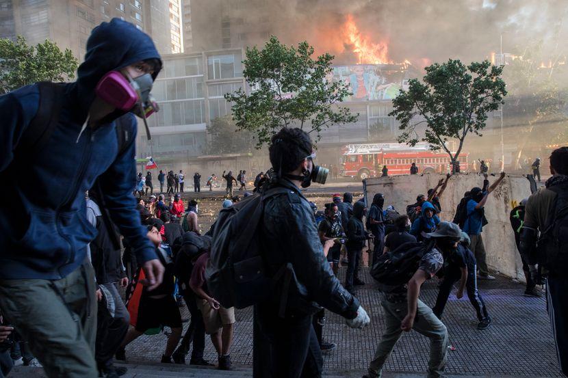 Čile protesti